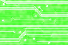 абстрактная технология зеленого цвета предпосылки Стоковое фото RF