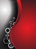 абстрактная технология красного цвета дела предпосылки Стоковая Фотография RF