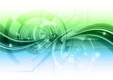 абстрактная технология Стоковая Фотография RF