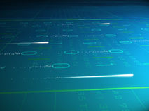 абстрактная технология Стоковые Фотографии RF