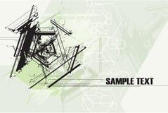 абстрактная технология grunge предпосылки Стоковое фото RF