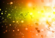 Абстрактная технология галактики предпосылки Стоковая Фотография RF