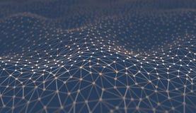 Абстрактная технология науки предпосылки Стоковое Изображение RF