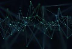 Абстрактная технология науки предпосылки бесплатная иллюстрация