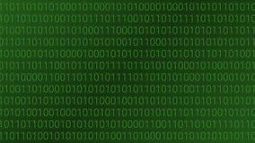 абстрактная технология предпосылки компьютер бинарного Кода Vector беда иллюстрация вектора
