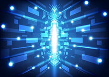 абстрактная технология предпосылки Стоковая Фотография RF