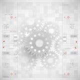абстрактная технология предпосылки Стоковое Изображение