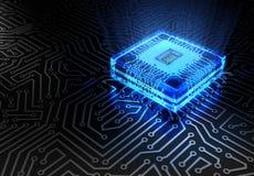 абстрактная технология принципиальной схемы Стоковое Изображение RF