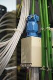 абстрактная технология сети соединения предпосылки Стоковые Изображения RF