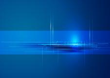 абстрактная технология сини предпосылки Стоковая Фотография RF