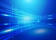 абстрактная технология сини предпосылки Стоковые Изображения RF