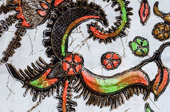Абстрактная ткань картины Стоковые Фотографии RF