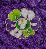 Абстрактная ткань цветка Стоковые Фотографии RF