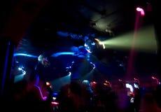 абстрактная толпа клуба стоковое фото rf