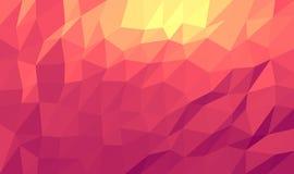 Абстрактная триангулярная мозаика Стоковые Фото