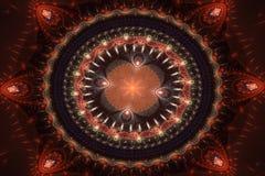 абстрактная украшая картина конструкторов Стоковое Изображение