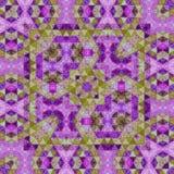 Абстрактная ультрафиолетов картина мозаики треугольников Стоковые Изображения RF