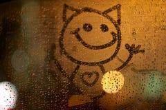 абстрактная усмешка Стоковые Фото