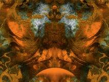 абстрактная фантазия предпосылки Стоковая Фотография RF