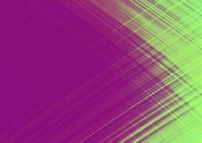 Абстрактная фиолетовая и зеленая предпосылка, концепция скорости и вспышки, дизайн для рекламировать и шаблон, с космосом для вхо Стоковые Фото