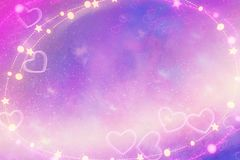Абстрактная фиолетовая предпосылка Wallpape Стоковое Изображение
