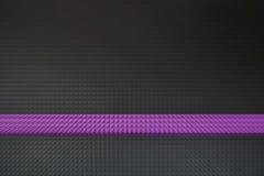 Абстрактная фиолетовая линия Стоковая Фотография RF