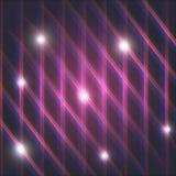 Абстрактная фиолетовая предпосылка с картиной линий Стоковая Фотография RF