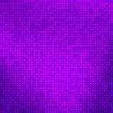 Абстрактная фиолетовая предпосылка с крошечными квадратами Стоковое Изображение
