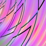 Абстрактная фиолетовая предпосылка с rhombs Стоковые Фотографии RF