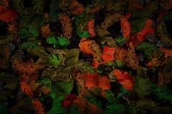 Абстрактная флористическая, винтажная предпосылка, часть текстурированных ходов краски холста широких конструирует для обоев, гоб бесплатная иллюстрация