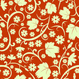 абстрактная флористическая картина безшовная Стоковое фото RF