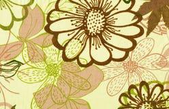 абстрактная флористическая картина Стоковая Фотография RF