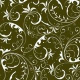 абстрактная флористическая картина Стоковые Фотографии RF