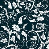 абстрактная флористическая картина Стоковое фото RF
