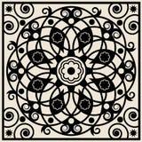 абстрактная флористическая картина Стоковая Фотография
