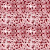 Абстрактная флористическая предпосылка в пинке Стоковые Фото