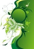 Абстрактная флористическая предпосылка стоковое фото rf