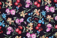 Абстрактная флористическая ткань Стоковые Фотографии RF