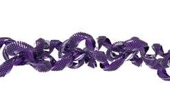Абстрактная форма пурпура 3D Стоковое фото RF