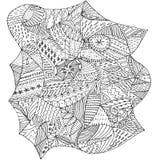 Абстрактная форма расцветки Стоковая Фотография RF