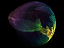 абстрактная форма светов Стоковые Фото