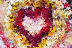 абстрактная форма сердца Стоковая Фотография RF