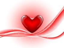 Абстрактная форма сердца Стоковые Изображения