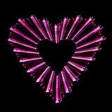 абстрактная форма сердца Стоковое Фото