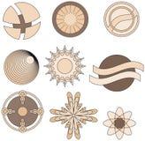 абстрактная форма собрания Стоковые Изображения RF