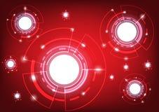 Абстрактная форма сферы концепции глобальной вычислительной сети и технологии бесплатная иллюстрация