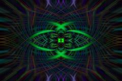 Абстрактная форма цвет Стоковые Изображения RF