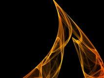 абстрактная форма черноты предпосылки Стоковое Фото