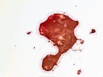 Абстрактная форма scatter акрилового цвета стоковые изображения rf