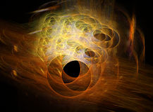 абстрактная фракталь конструкции Стоковое Изображение